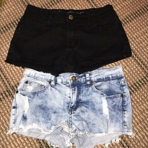 SO NIKKI SIZE 12 KIDS DENIM SHORTS
